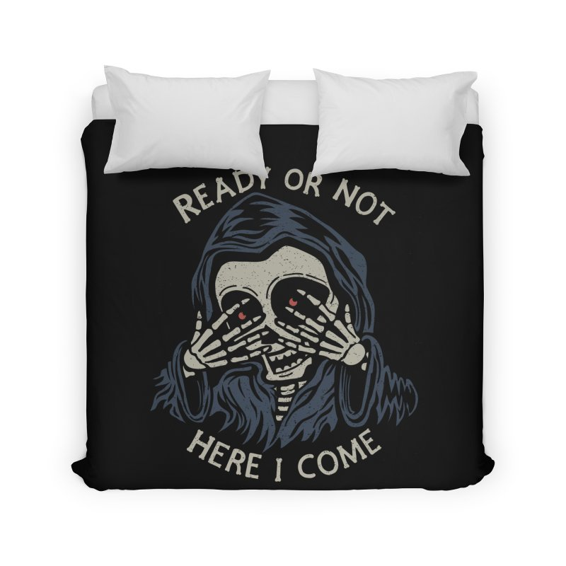 Grim Seeker Home Duvet by Ibyes