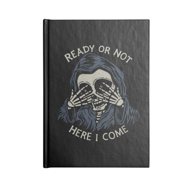 Grim Seeker Accessories Notebook by Ibyes