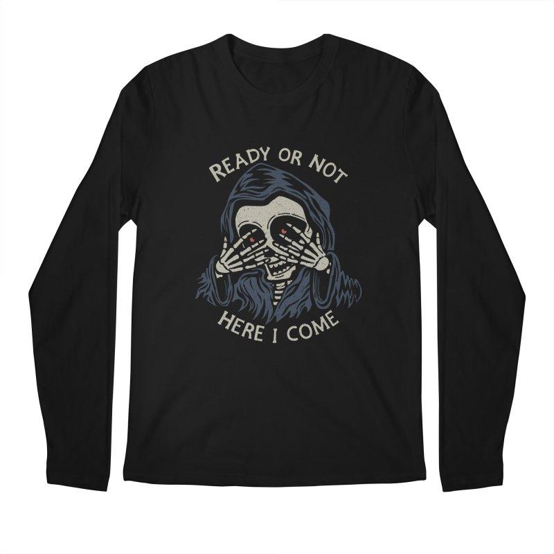 Grim Seeker Men's Longsleeve T-Shirt by Ibyes