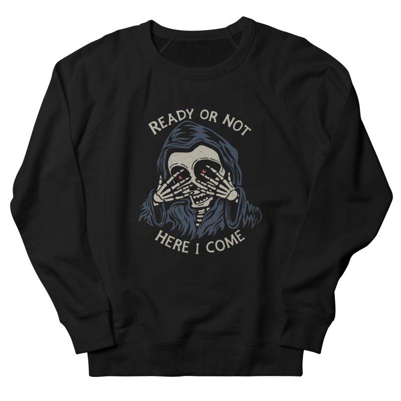 Grim Seeker Women's French Terry Sweatshirt by Ibyes