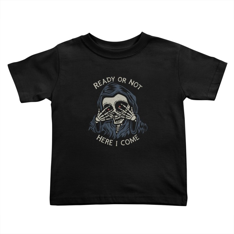 Grim Seeker Kids Toddler T-Shirt by Ibyes