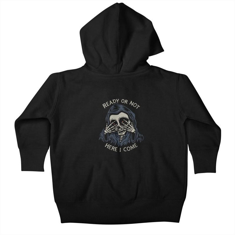 Grim Seeker Kids Baby Zip-Up Hoody by Ibyes