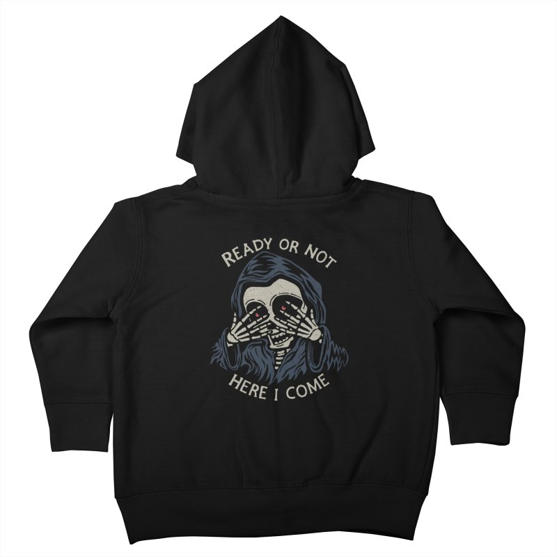 Grim Seeker Kids Toddler Zip-Up Hoody by Ibyes