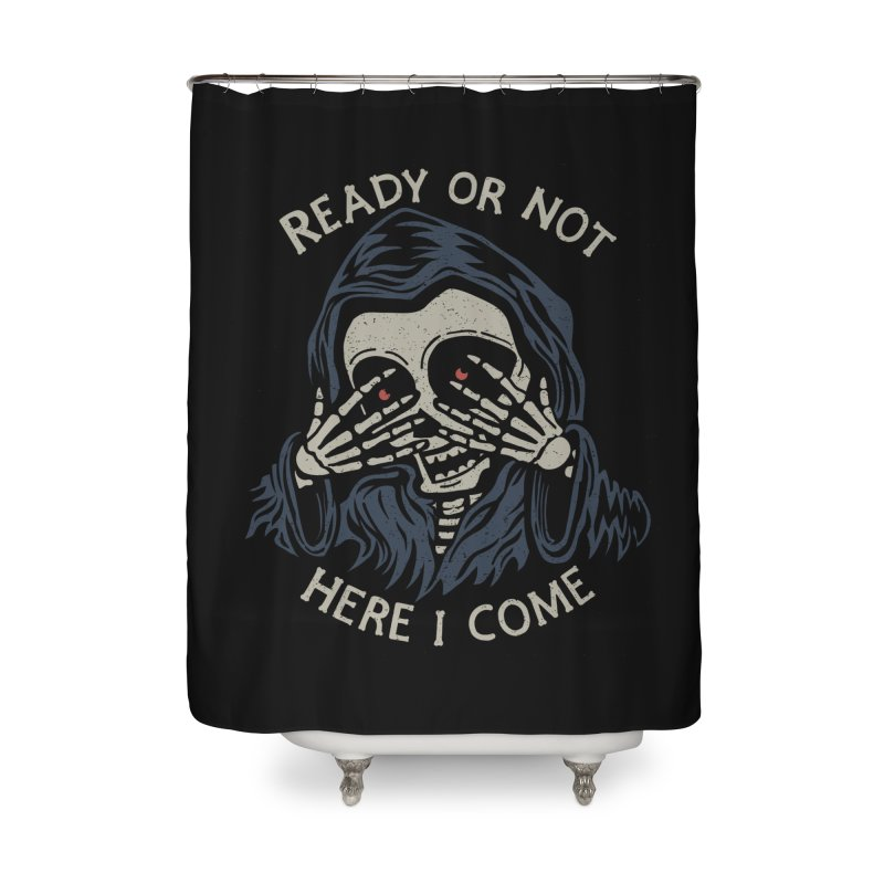 Grim Seeker Home Shower Curtain by Ibyes