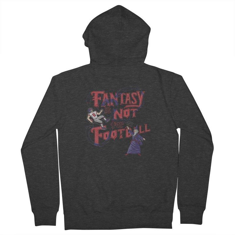 Fantasy Not Football Men's Zip-Up Hoody by Ibyes