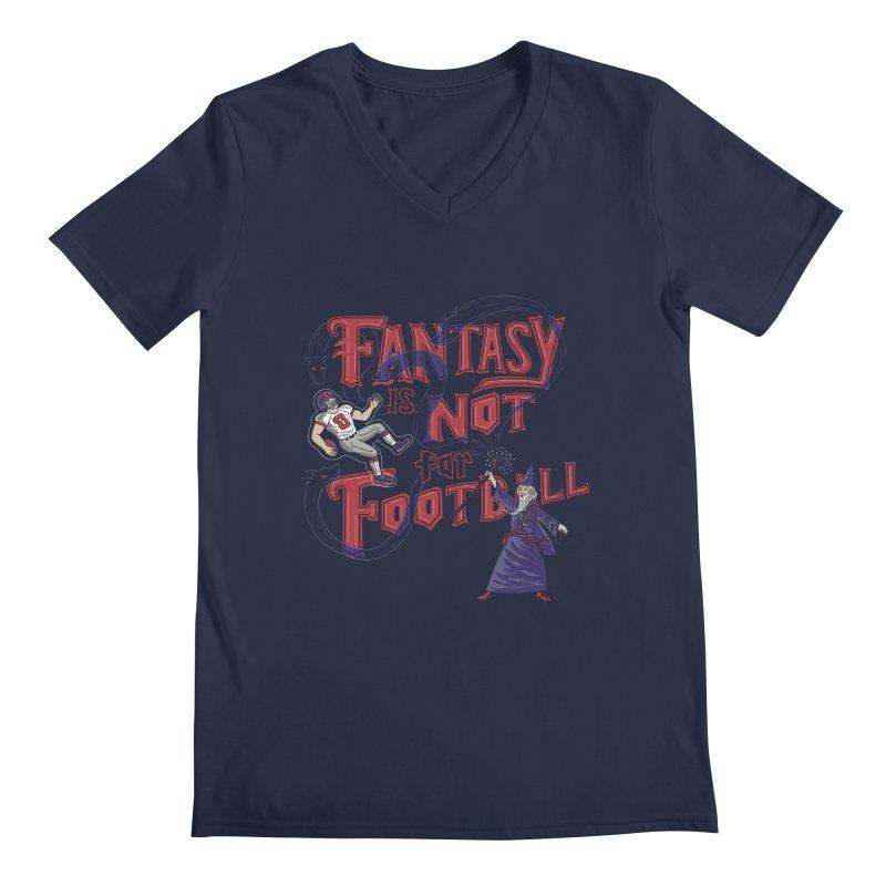 Fantasy Not Football Men's Regular V-Neck by Ibyes