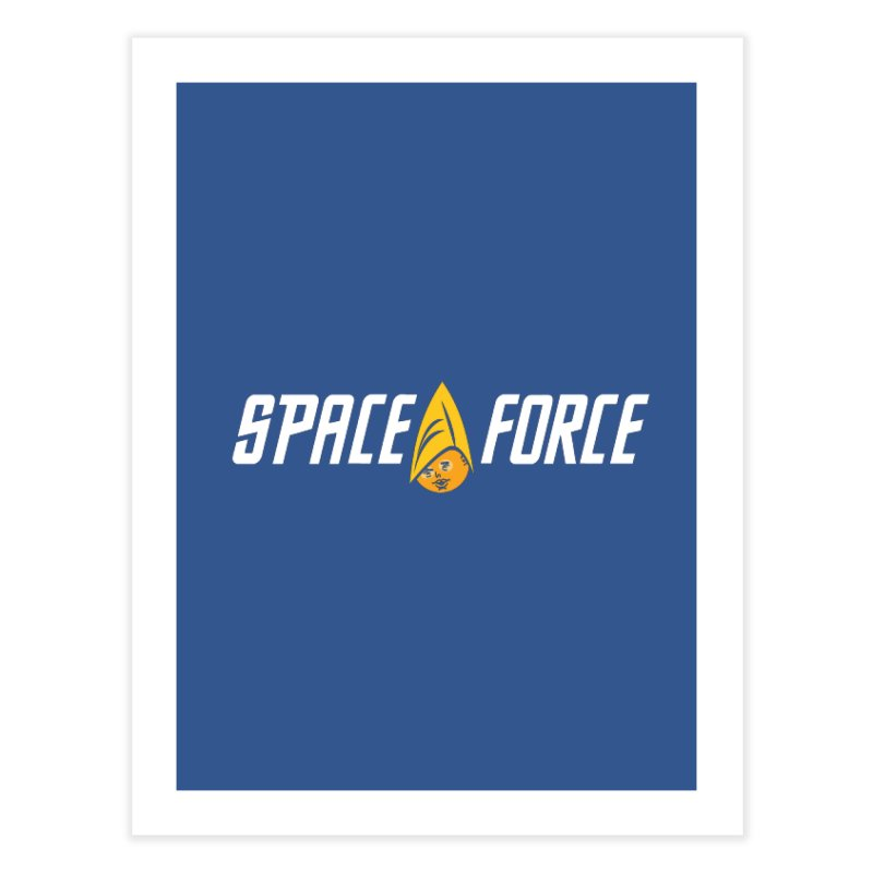 Space Force Home Fine Art Print by Ibyes