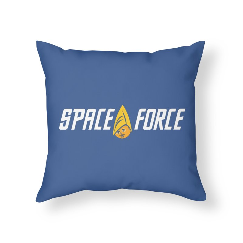 Space Force Home Throw Pillow by Ibyes