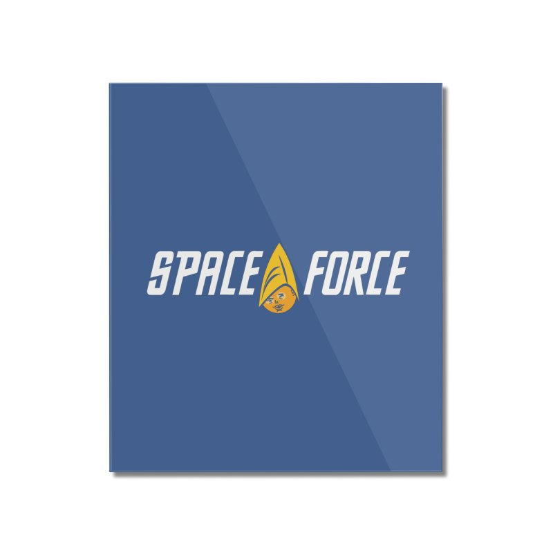 Space Force Home Mounted Acrylic Print by Ibyes