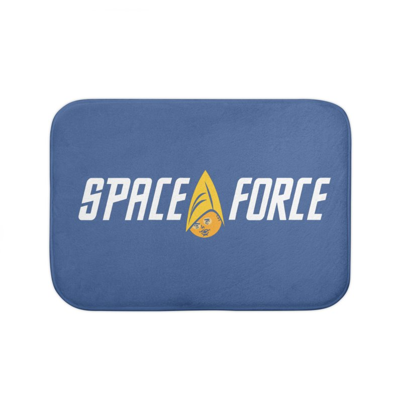 Space Force Home Bath Mat by Ibyes