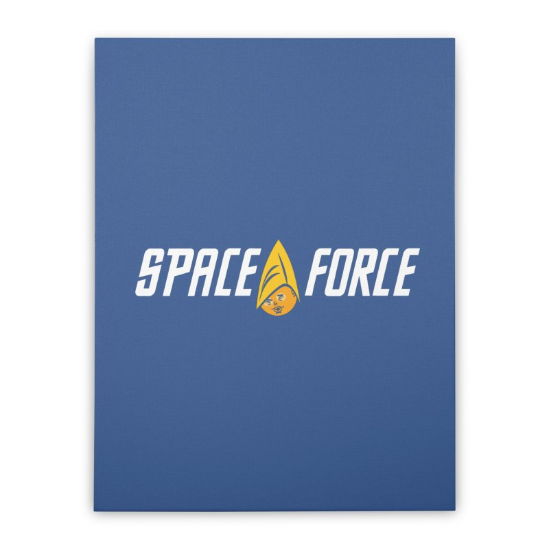 Space Force Home Stretched Canvas by Ibyes
