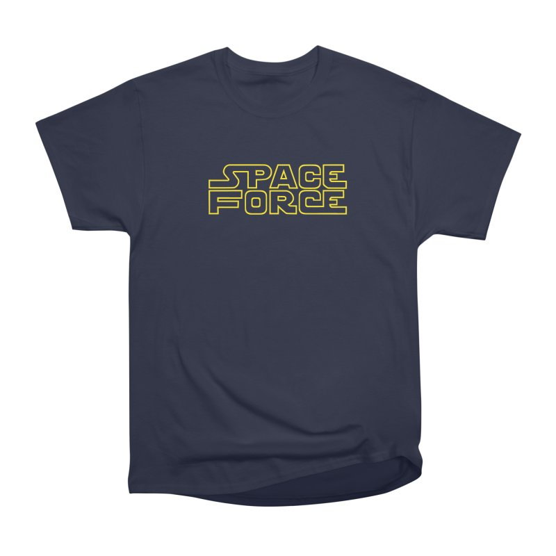 Space Force Women's Heavyweight Unisex T-Shirt by Ibyes