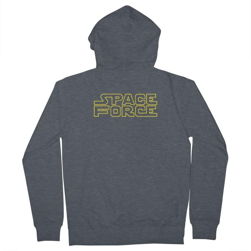 Space Force Men's French Terry Zip-Up Hoody by Ibyes