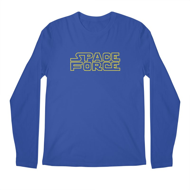 Space Force Men's Longsleeve T-Shirt by Ibyes