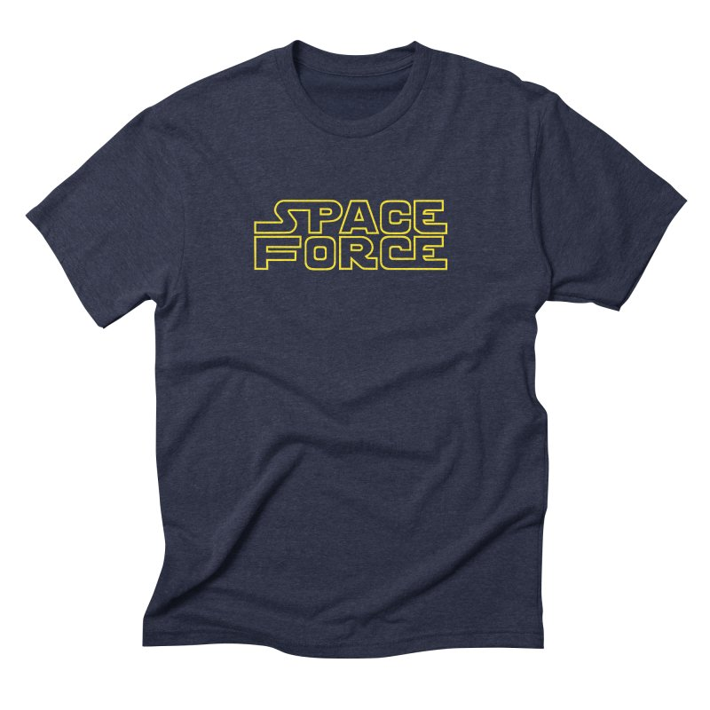 Space Force Men's Triblend T-Shirt by Ibyes