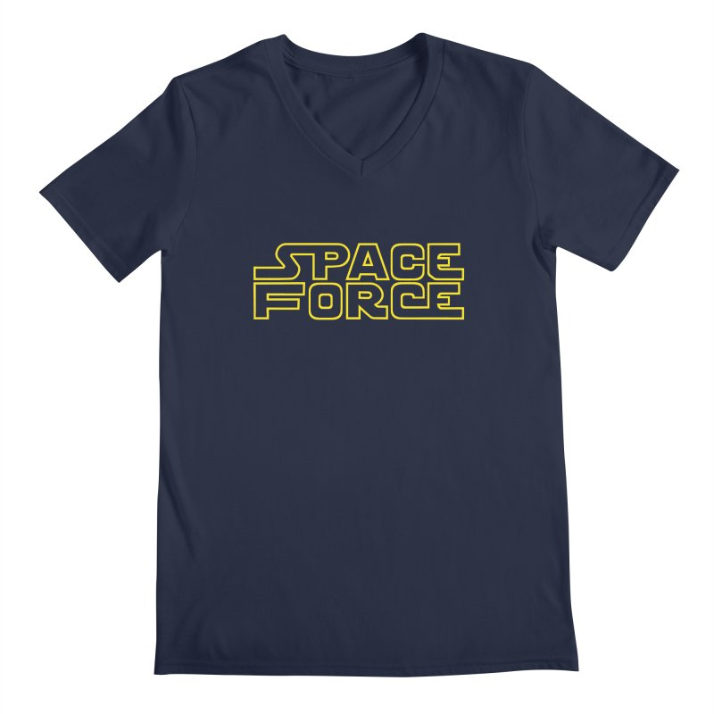 Space Force Men's V-Neck by Ibyes