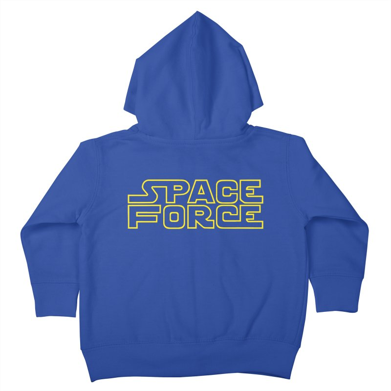 Space Force Kids Toddler Zip-Up Hoody by Ibyes
