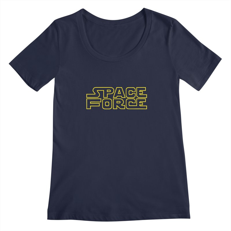 Space Force Women's Scoopneck by Ibyes