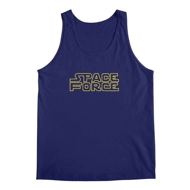 Space Force Men's Regular Tank by Ibyes