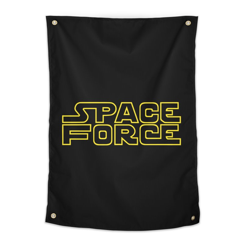 Space Force Home Tapestry by Ibyes