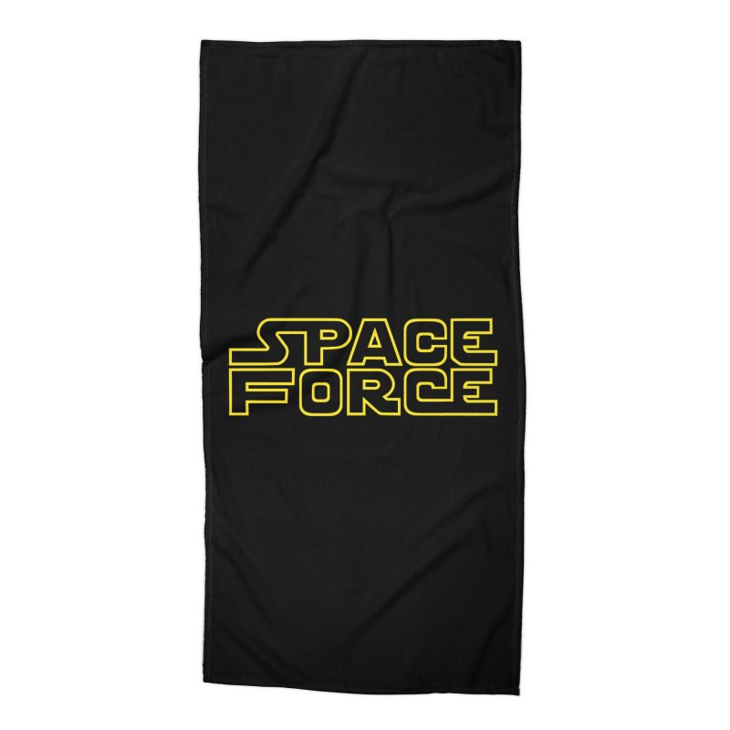 Space Force Accessories Beach Towel by Ibyes