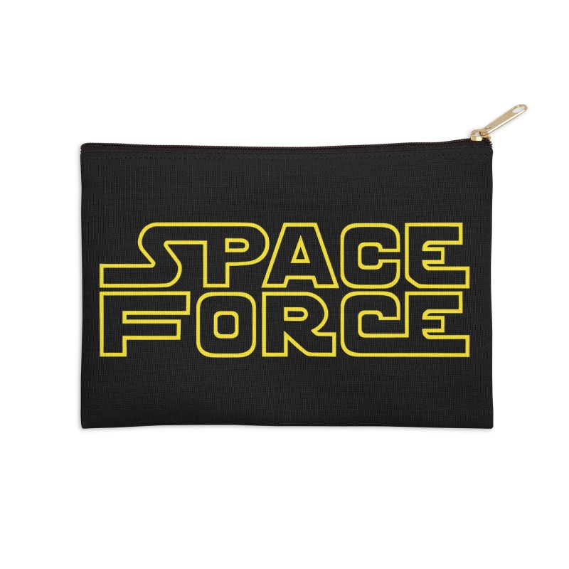 Space Force Accessories Zip Pouch by Ibyes