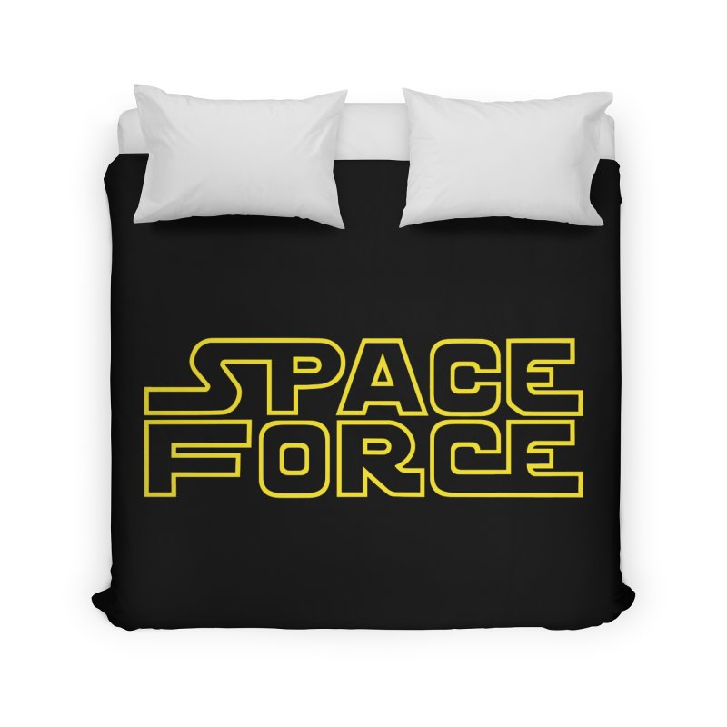 Space Force Home Duvet by Ibyes