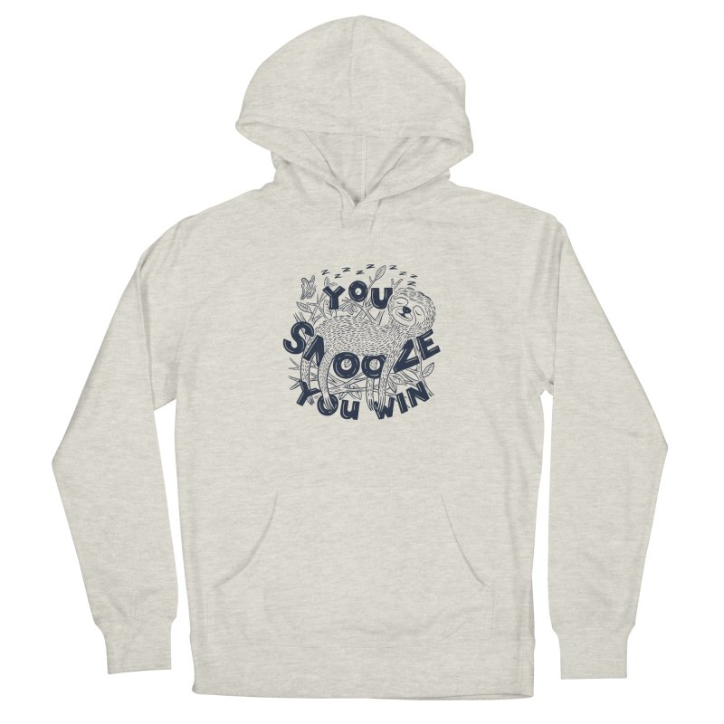Snoozer Men's Pullover Hoody by Ibyes