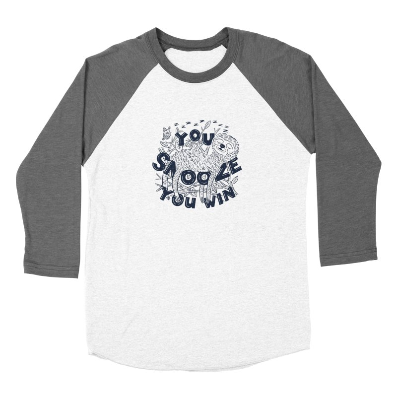 Snoozer Women's Longsleeve T-Shirt by Ibyes
