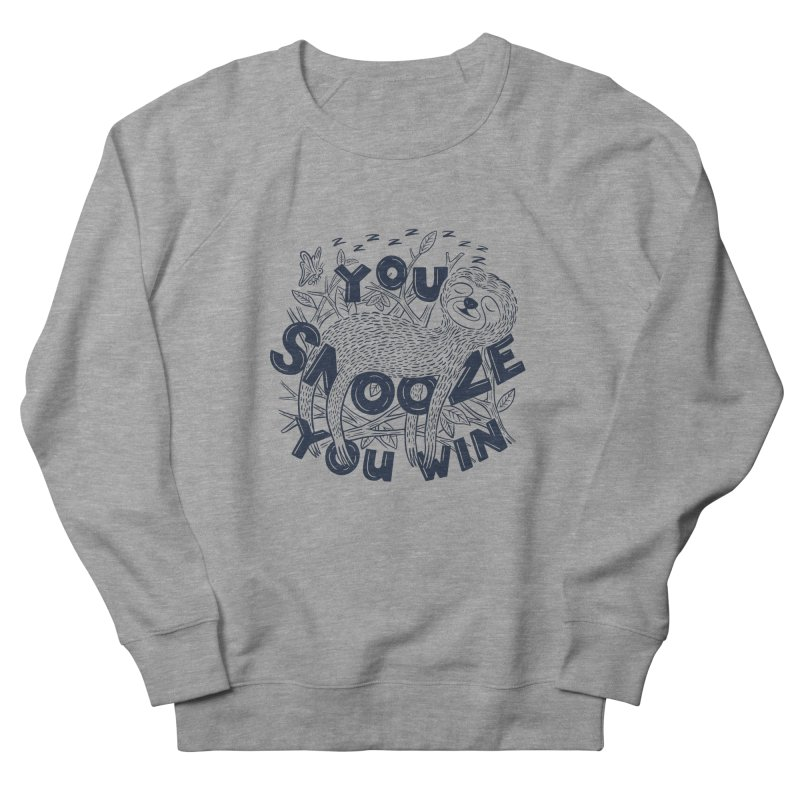 Snoozer Men's French Terry Sweatshirt by Ibyes