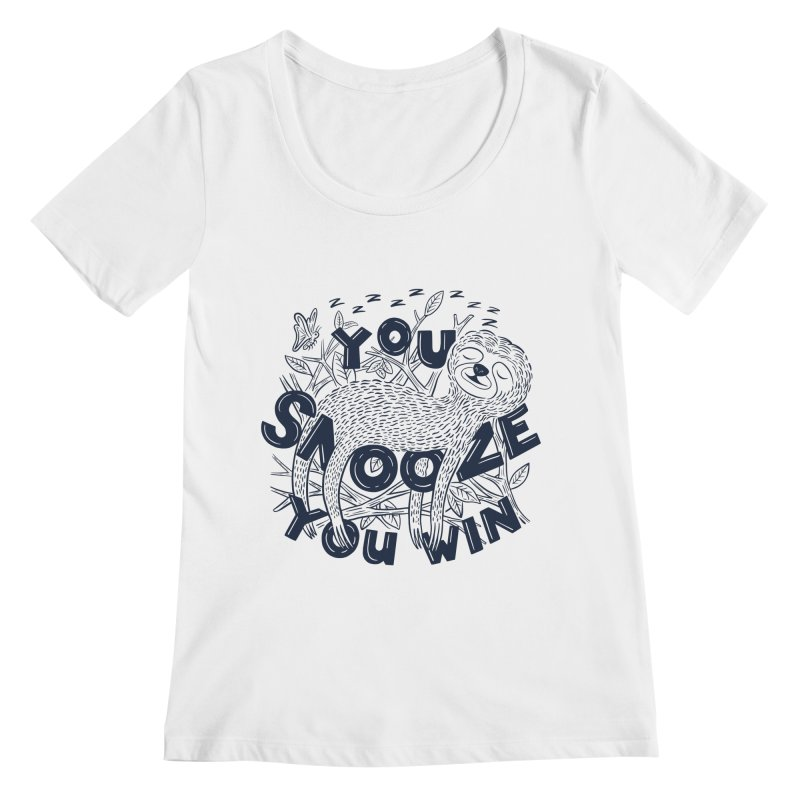 Snoozer Women's Scoopneck by Ibyes