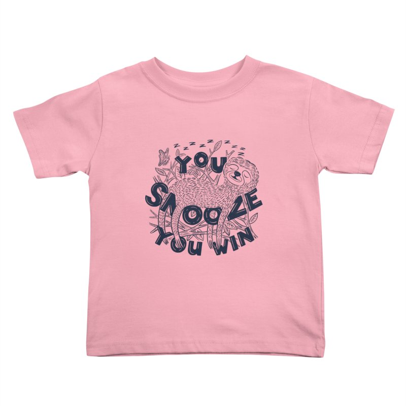 Snoozer Kids Toddler T-Shirt by Ibyes