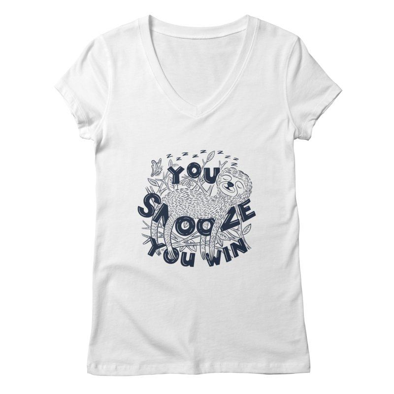 Snoozer Women's V-Neck by Ibyes
