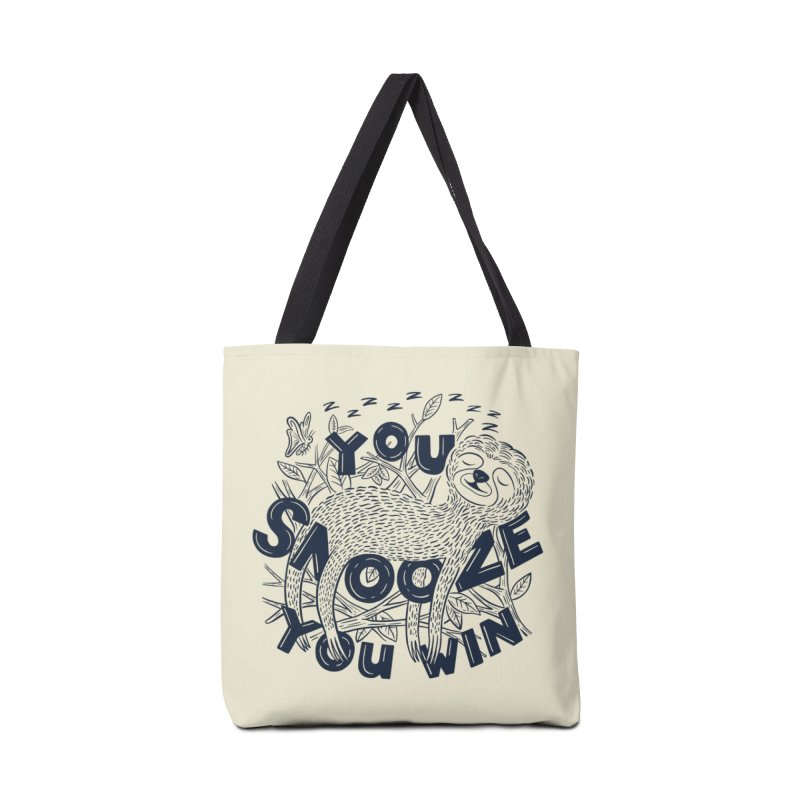 Snoozer Accessories Tote Bag Bag by Ibyes
