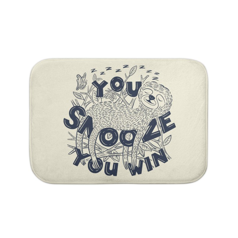Snoozer Home Bath Mat by Ibyes