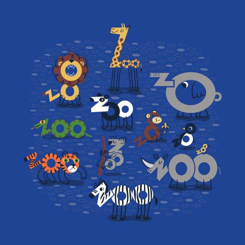 Zoo Animals by Ibyes