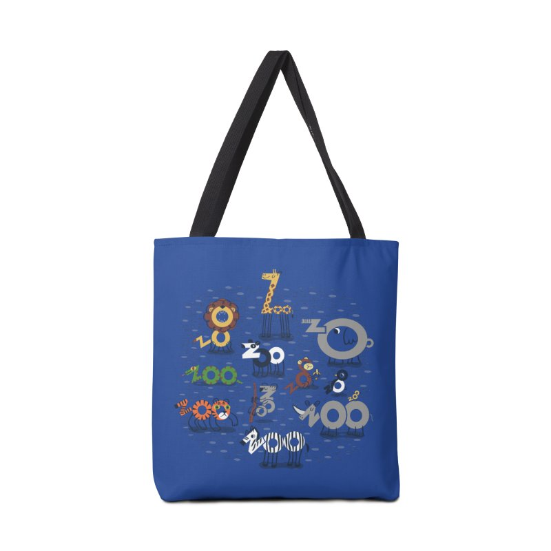 Zoo Animals Accessories Tote Bag Bag by Ibyes