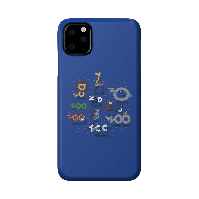 Zoo Animals Accessories Phone Case by Ibyes