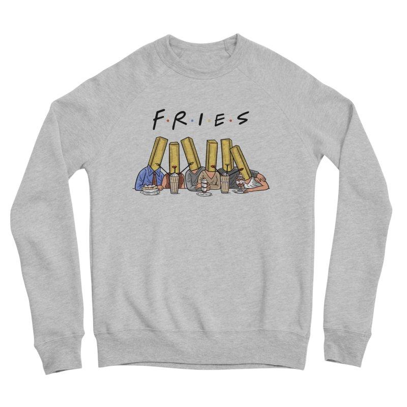 Fries Men's Sponge Fleece Sweatshirt by Ibyes