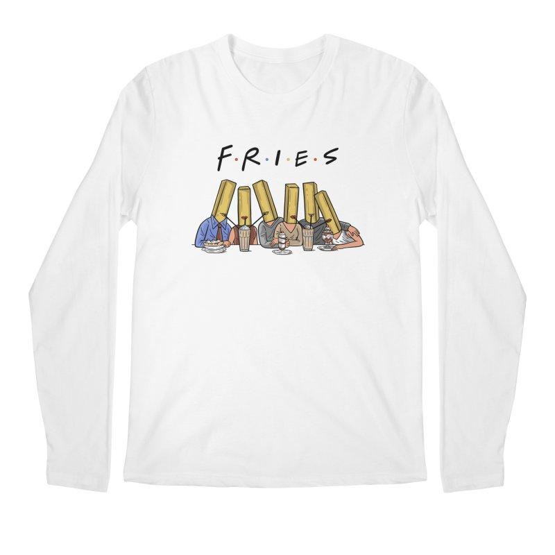 Fries Men's Regular Longsleeve T-Shirt by Ibyes