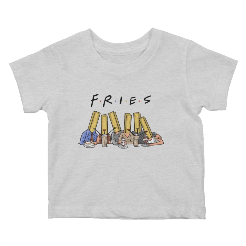 Fries Kids Baby T-Shirt by Ibyes