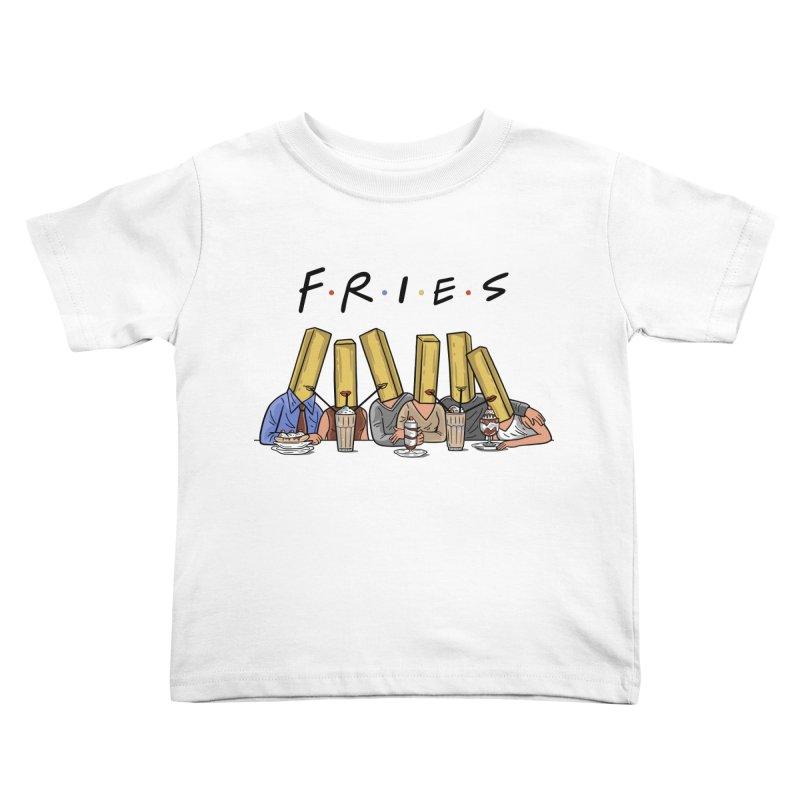 Fries Kids Toddler T-Shirt by Ibyes