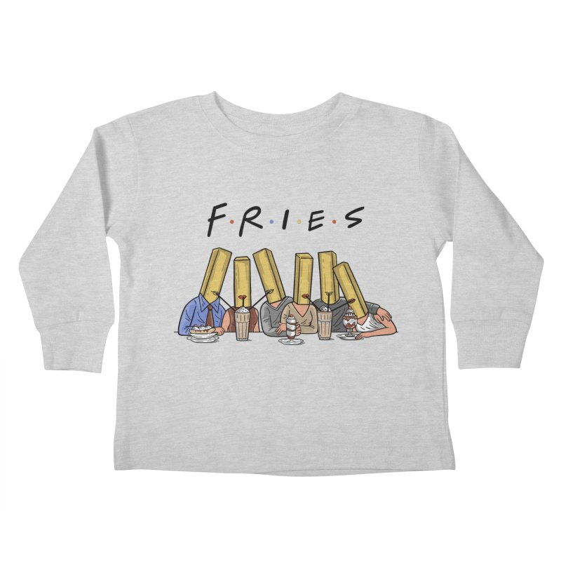 Fries Kids Toddler Longsleeve T-Shirt by Ibyes