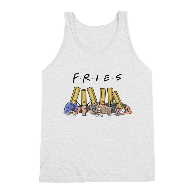 Fries Men's Triblend Tank by Ibyes