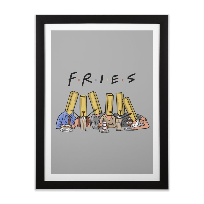 Fries Home Framed Fine Art Print by Ibyes