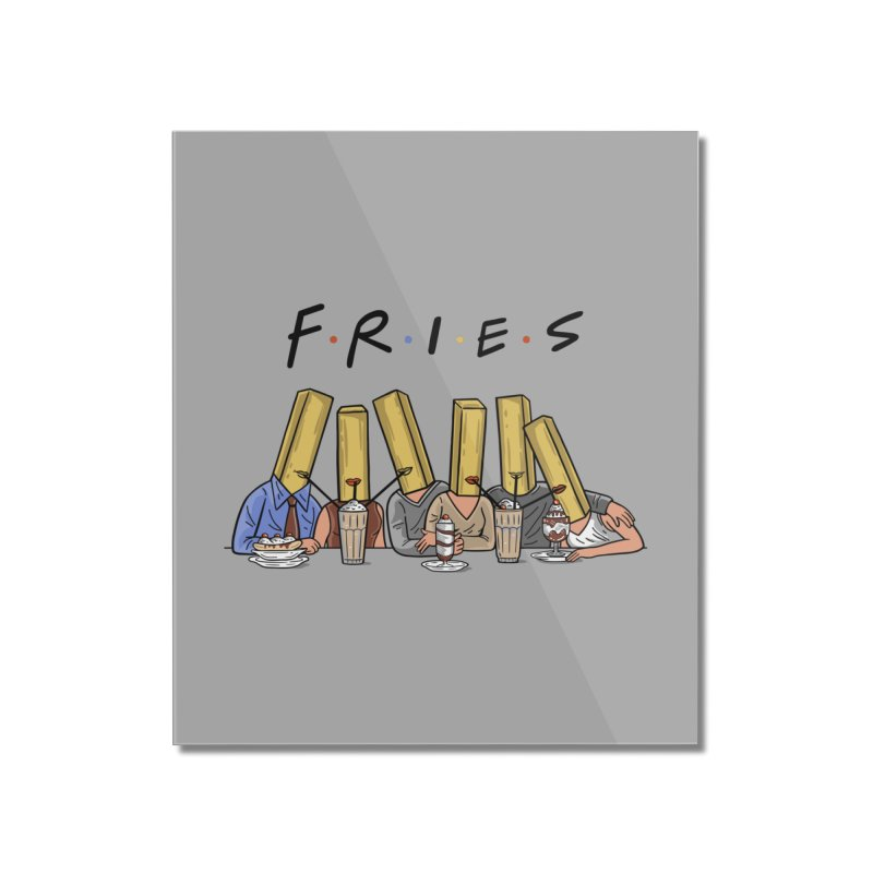 Fries Home Mounted Acrylic Print by Ibyes