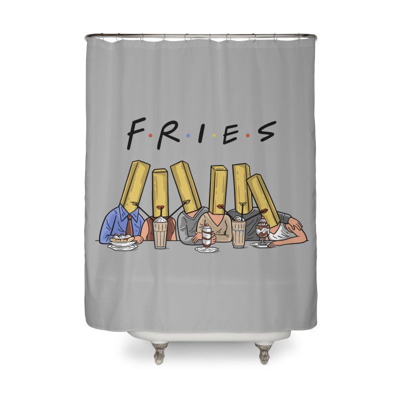 Fries Home Shower Curtain by Ibyes