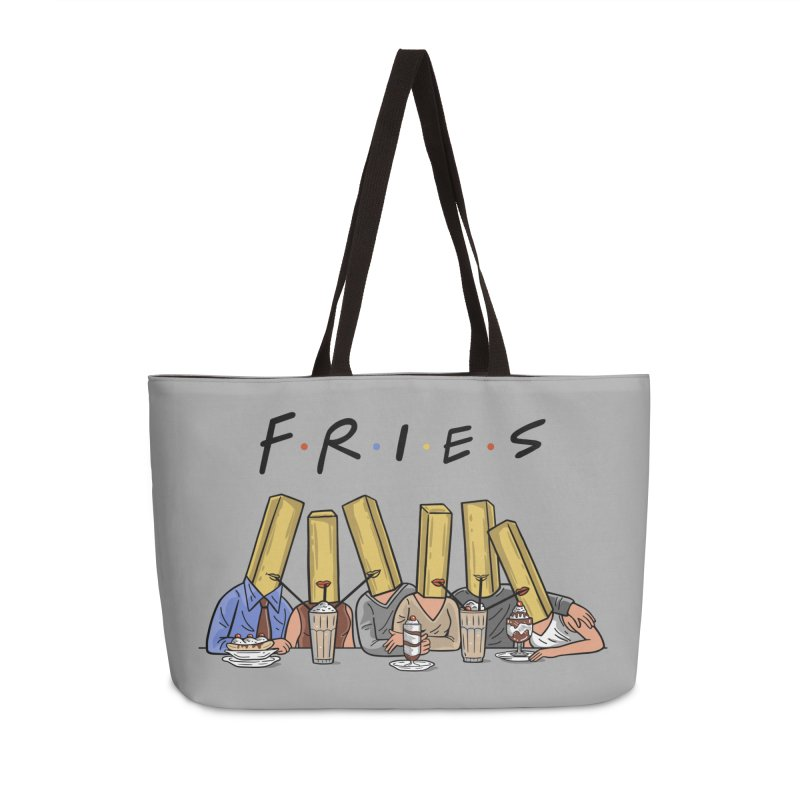 Fries Accessories Weekender Bag Bag by Ibyes