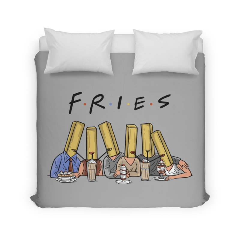 Fries Home Duvet by Ibyes