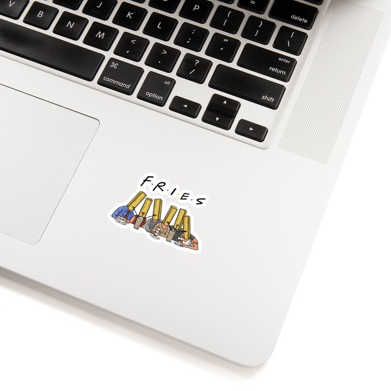 Fries Accessories Sticker by Ibyes